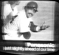 Panaonic commercial from Sports Journal show, 11/1/1980